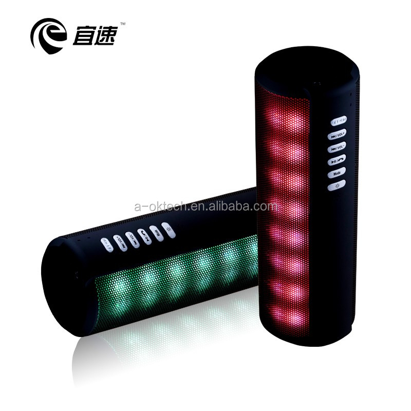 bluetooth speaker with led light wireless speaker portable bluetooth speaker for the young