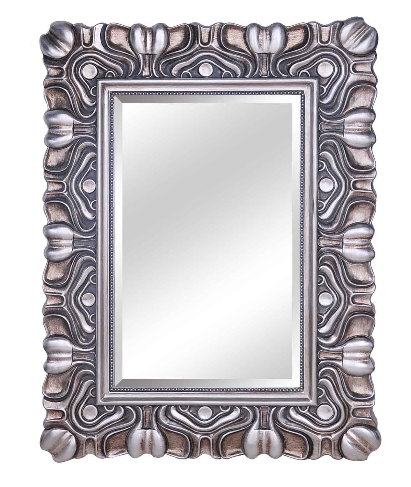 saln de belleza espejo moderno enmarcado espejo elegante espejo de pared