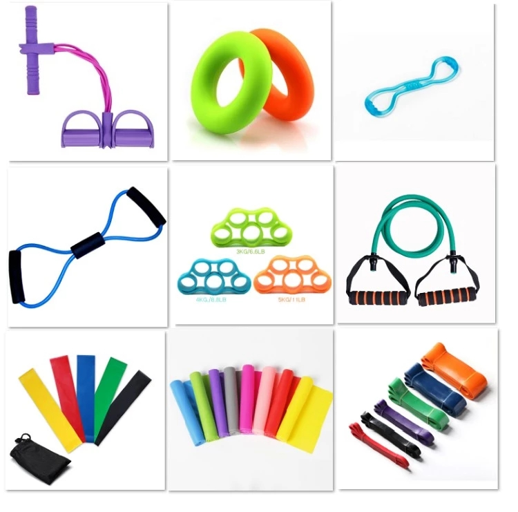 Factory Directly Latex resistance tube Fitness Silicone Rope