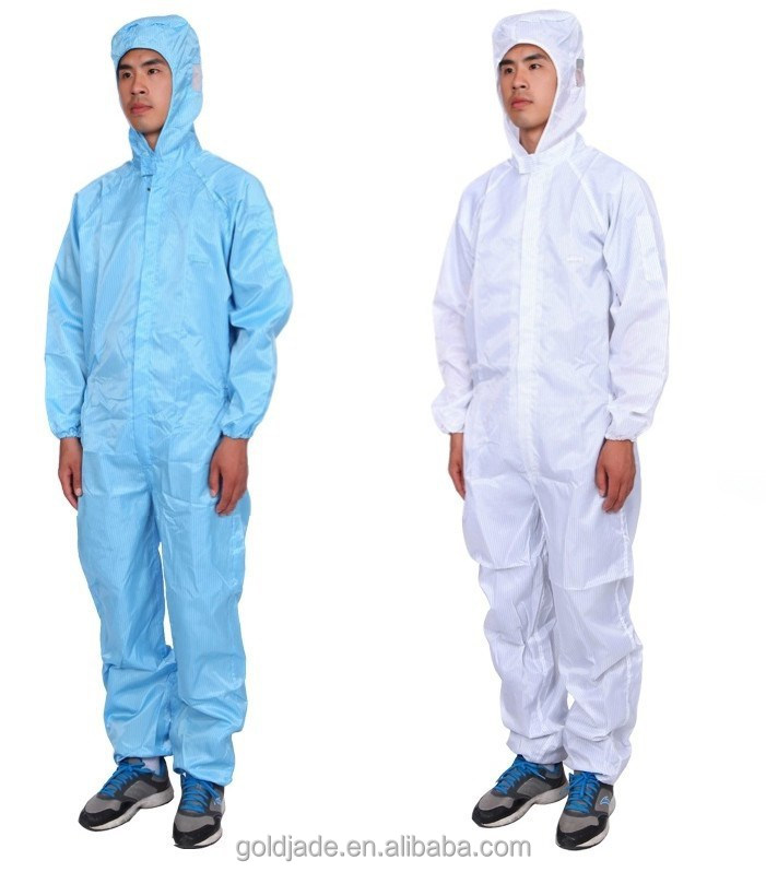 Anti Static Clothing : Salle blanche antistatique salopette de travail uniforme