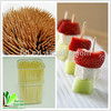 Thin Natural Eco-Friendly Low Price Bamboo Toothpicks