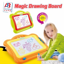 Kids educational intelligent magnetic drawing board toy