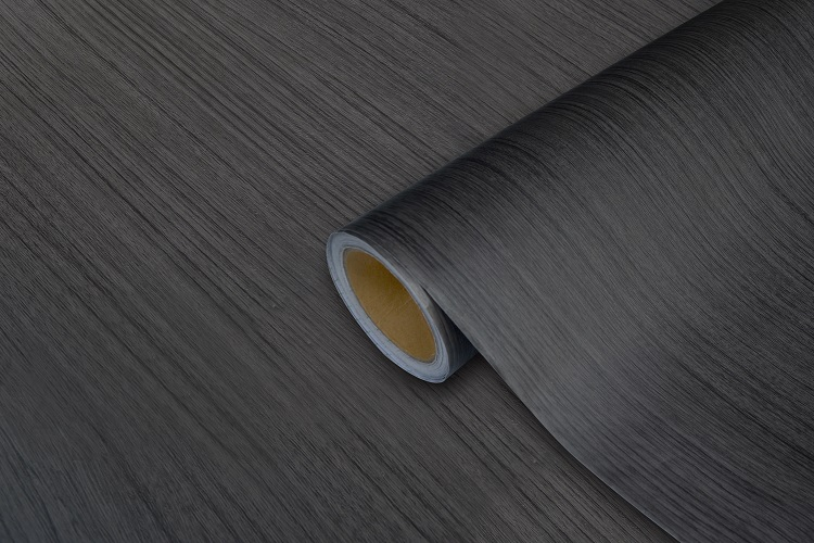 New product 2017 top quality wood grain pvc