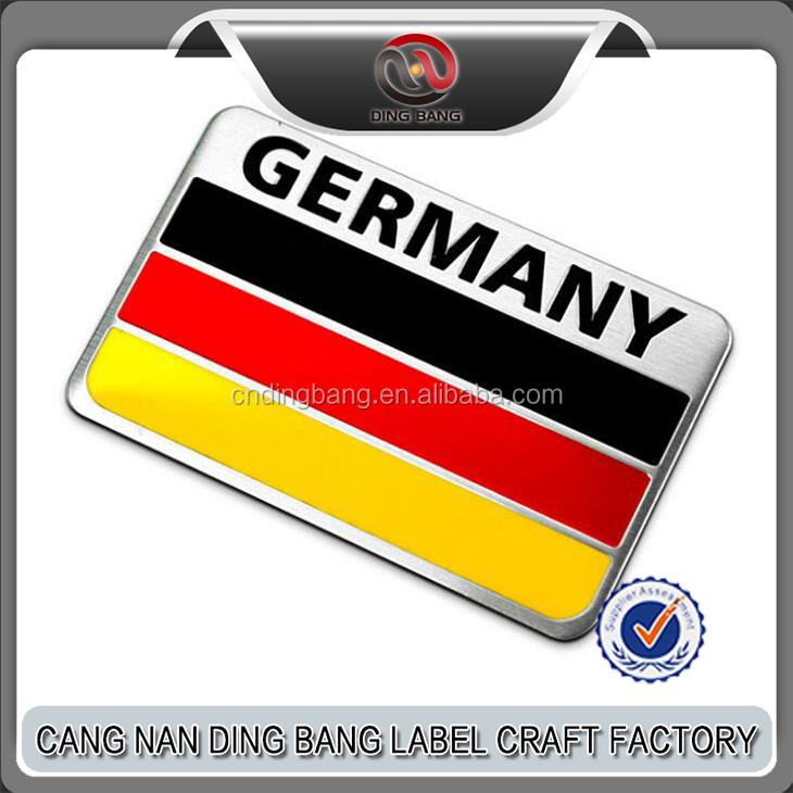 Luxury Flag Car Emblems Car Decoration Badge Car Logo Emblem Buy