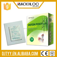 Health Care Product Traditional Chinese Herbal Medicine Detox Foot Patch With Powerful Effect Help You Remove Toxins