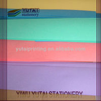 Offset printing colorful underpacking papers