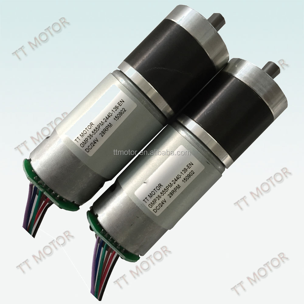 GMP36-555 Wholesales Custom Unique brushless dc motor with gearbox