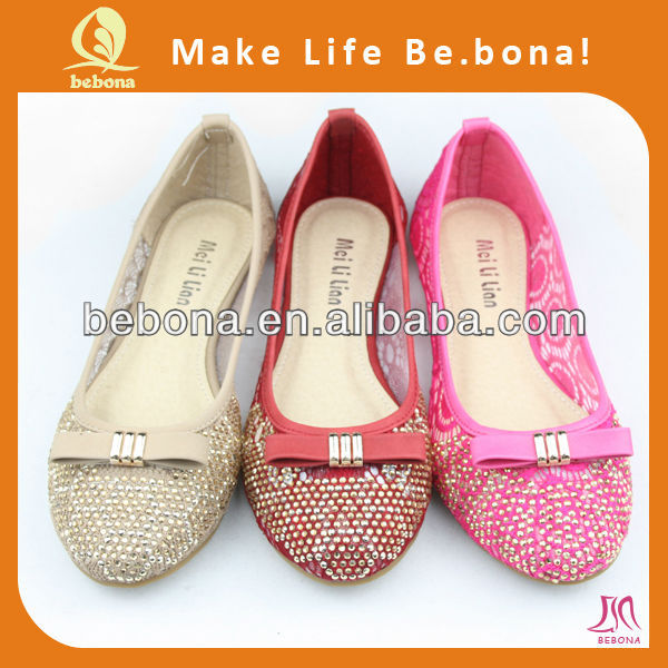2017 fashion comfortable shining all kinds of women shoes