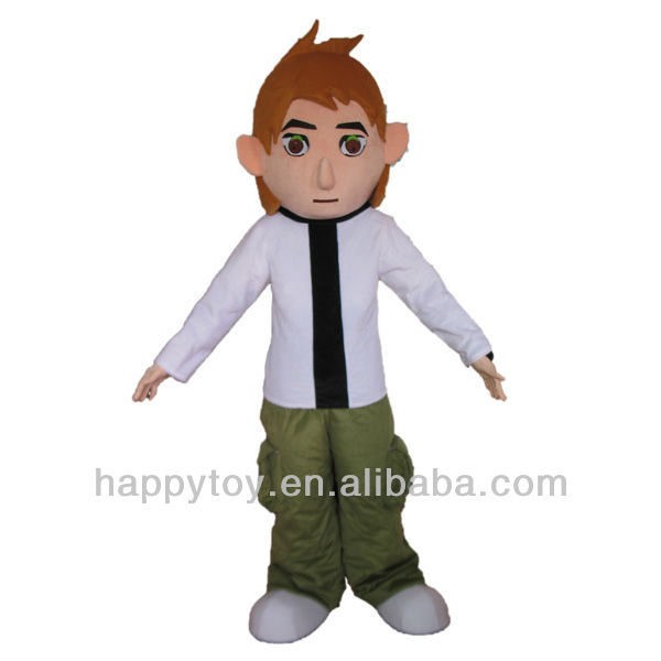 HI EN71 2013 Hot sales Promoting Ben 10 mascot costume