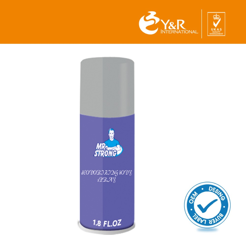 Anti-bacterial body deodorant stick spray for personal cleaning