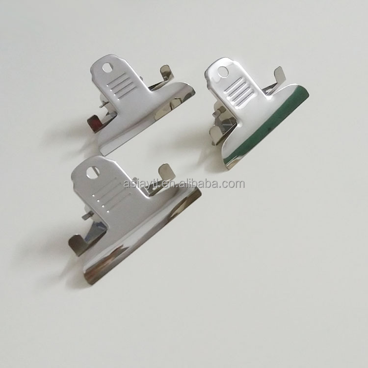 80mm unique style clipboard clip metal paper binding clip for PVC folder