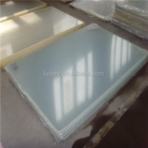 Feuille de plastique acrylique d'acétate de cellulose en plastique résistant à la chaleur