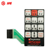 Custom matrix keyboard 3x3 4x4 matrix membrane keypad switch