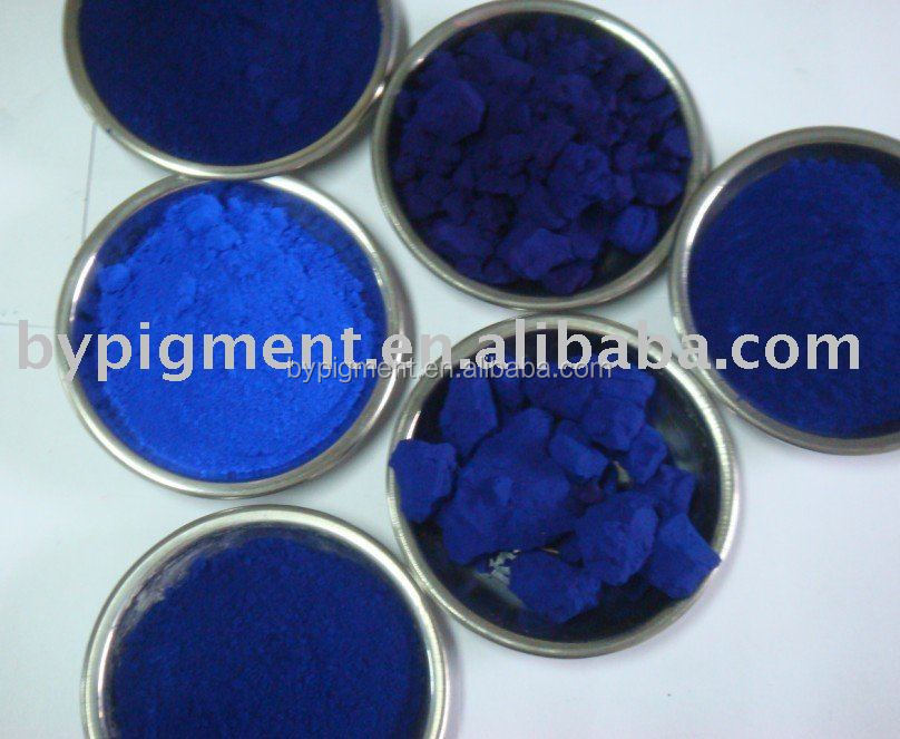 organic powdered color blue powder 15:2 for pvc water-based coating