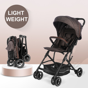 China Factory Cheap Compact Lightweight Foldable Baby Stroller Buggy