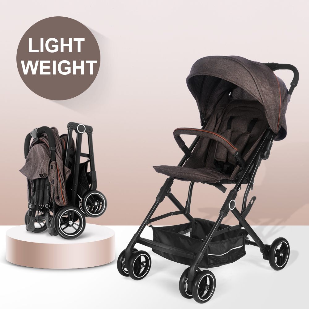 China Factory Cheap Pockit Compact Lightweight Foldable Baby Stroller Buggy