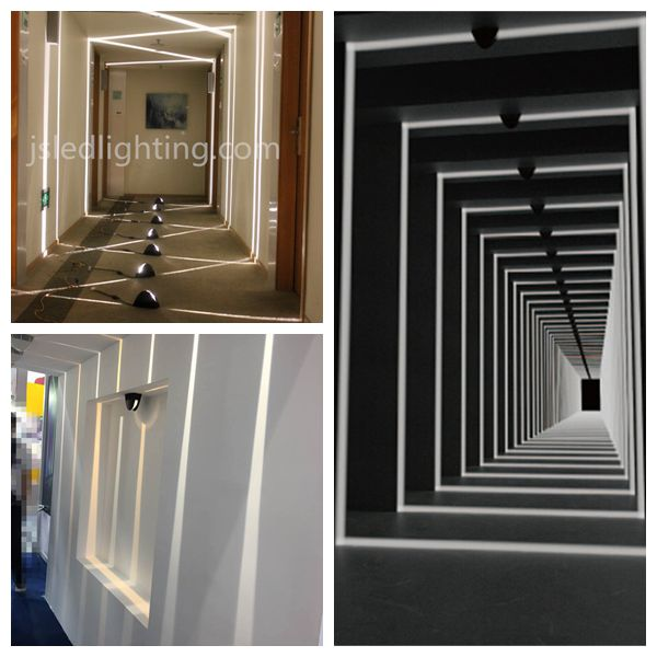 50000 hours round shapeled ceiling recessed light design