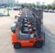 New Condition 2.5 Ton LPG/Gasoline Dual Fuel Forklift with NISSAN K25 Engine