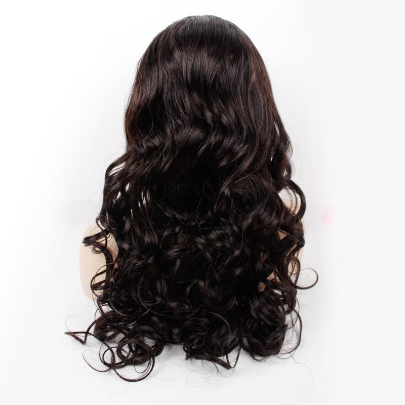 150 צפיפות בתולה ברזילאי שיער עבה פאה פאה תחרה מלא זולים אדם שיער פאה הקדמי של תחרה הטוב ביותר Glueless הפאה