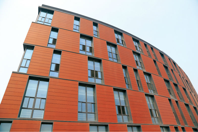 Exterior Wall Cladding Tiles Terracotta Panel Glazing