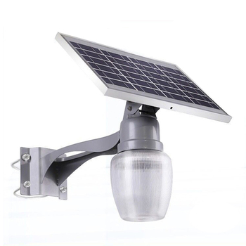 Warm light IP65 outdoor waterproof Die Casting Aluminum 9watt unique solar garden light
