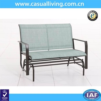 Amazing New Design Outdoor Patio Swing Glider Bench Chair Garden Glider Rocking Metal Garden Chair Buy Metal Garden Chair Rocking Metal Chair Outdoor Garden Gmtry Best Dining Table And Chair Ideas Images Gmtryco