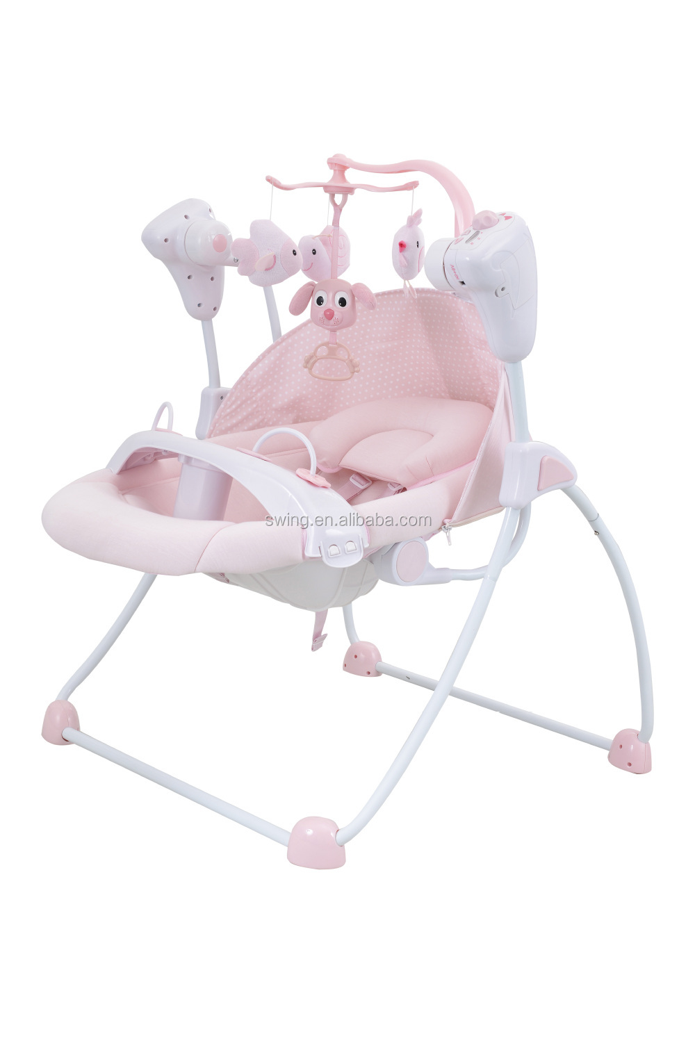 Selling Electric Baby Doll Swing With Dinner Plate And