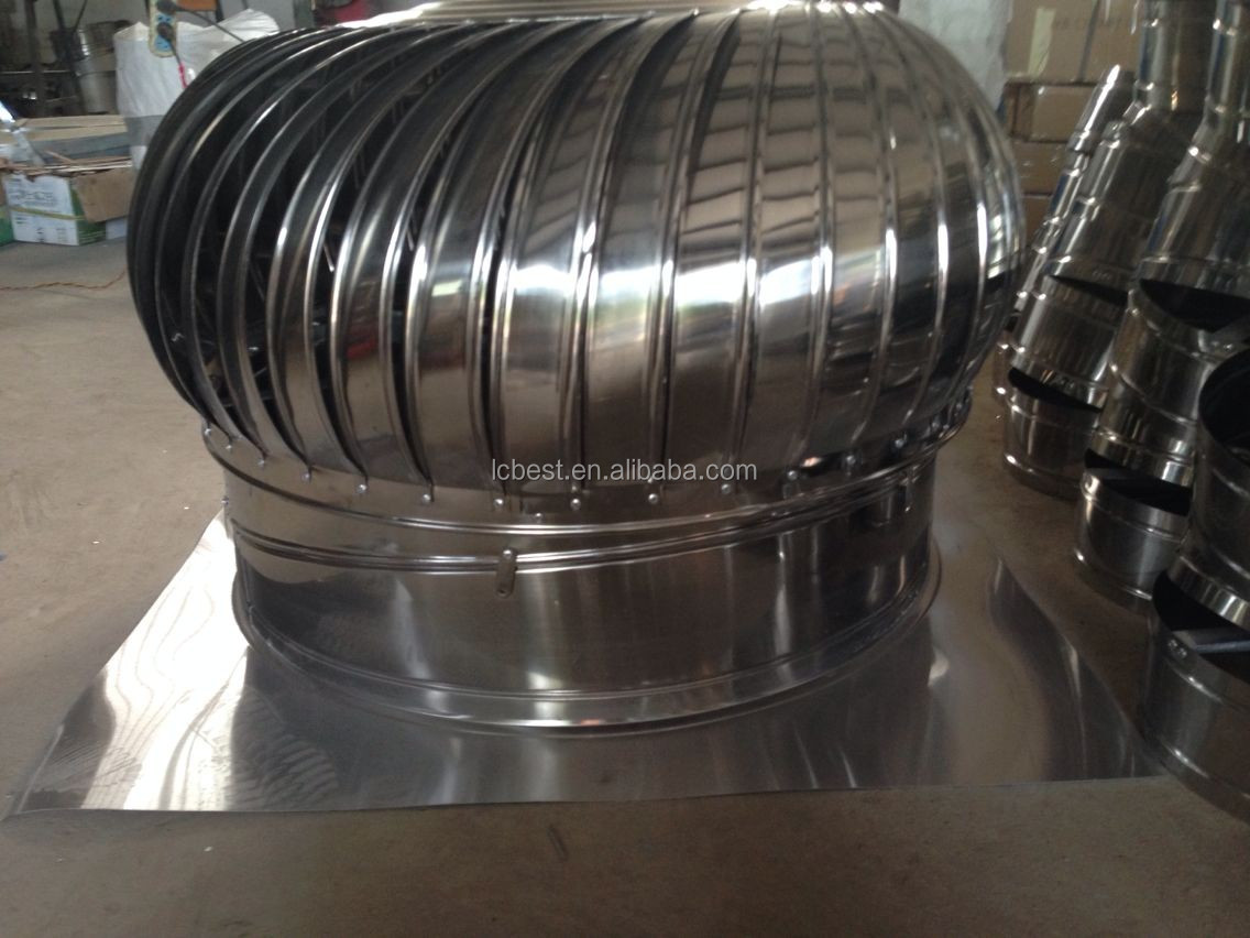 power turbo ventilator / No power roof ventilation fan for Industrial  #736558