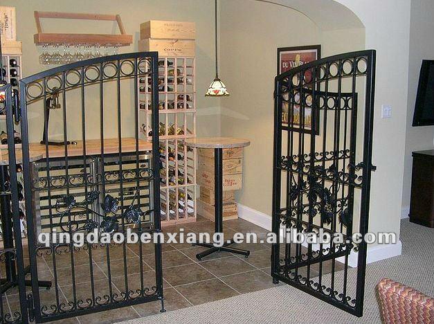 Bx acero galvanizado pasarela puerta portales - Puerta acero galvanizado ...