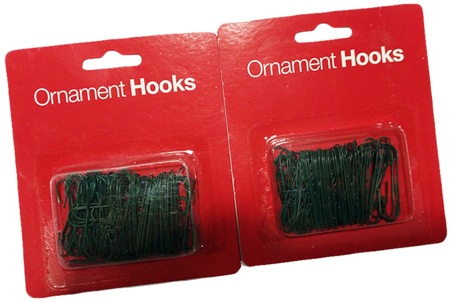 """Lot Of 3 Holiday Time 1/"""" 600 Total Ct Green Christmas Tree Ornament Hooks"""