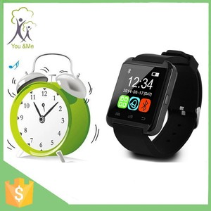 Wholesales bluetooth smart wrist watch New product round andriod smart watch