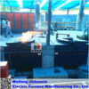 SCR Hydraulic Tilting 500kg copper melting induction furnace