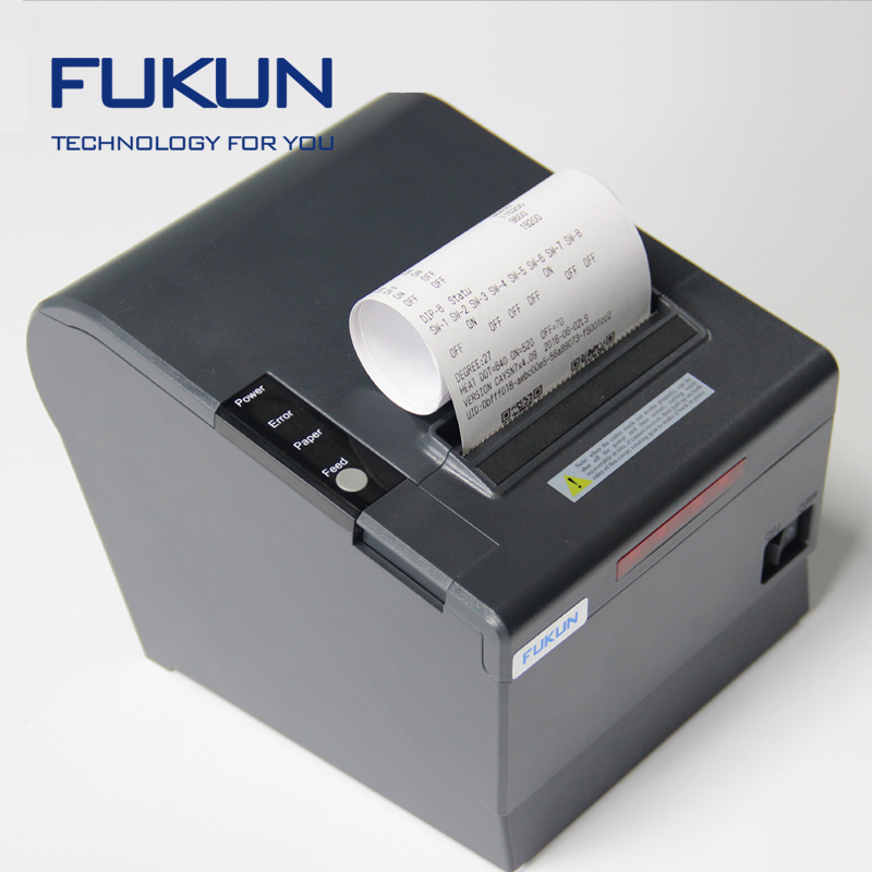 WIFI USB Wireless POS Thermal Receipt <strong>Printer</strong> 80mm Auto Cutter Restaurant