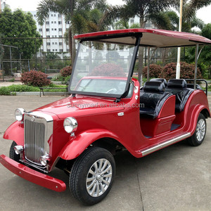 6 passenger electric sightseeing classic old vintage car
