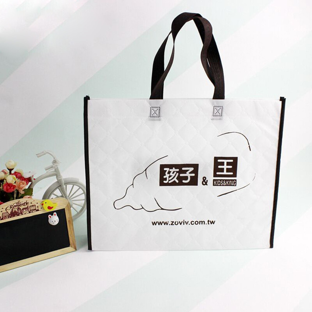 80gsm non woven shopping bag non woven bag customers logo tote hand cooler bag