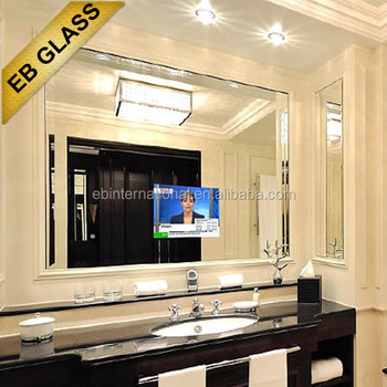 bathroom tv mirror glass bathroom tv mirror magic mirror glass for liviing room 16921