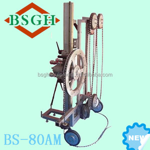 knowledgeable sales BSGH hydraulic diamond wire saw machine used in building construction