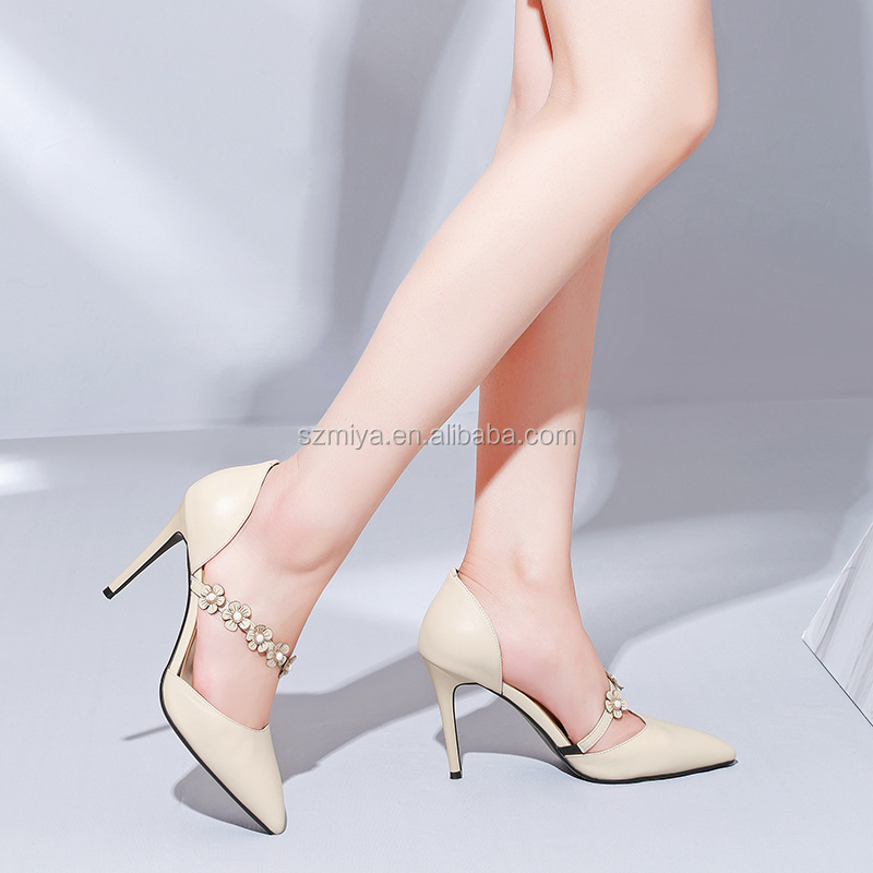 Latest For Heel Shoes Sexy Hollow 2018 Women High Lady Aw6WRanHxx