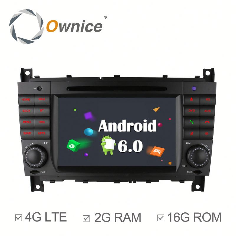 Ownice C500 Cortex A53 4core Car dvd for Mercedes Benz W230 2004 - 2007 bulit in wifi BT+16G ram