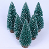 indoor holiday decoration 8 inches mini christmas tree