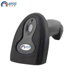 JEPOD JP-H1AT Supermarket Wired Handheld USB Laser 1D Barcode Scanner Computer Screen Scanner with autoinduction