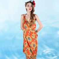 2015 Best Sale Ladies Beach Chiffon Scarf Summer Dress Swimwear Colorful