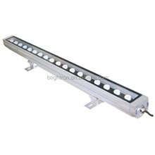 Outdoor LED Wall Wash Landscape Lighting Fixtures 18*3w rgb 3in1 waterproof outdoor led wall washer
