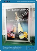 Advertising LED Crystal Light Box Frame Display