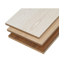 melamine faced waterproof mdf board price from linyi China