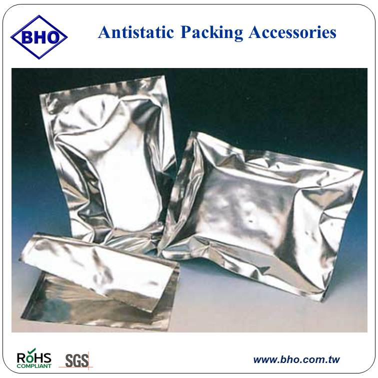 MB7 Antistatic packing accessories static aluminum shielding bags