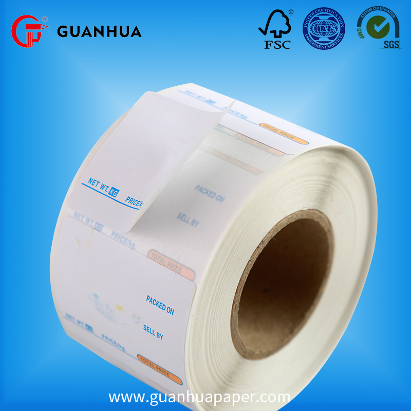 High Quality Waterproof Full Color adhesive color labels