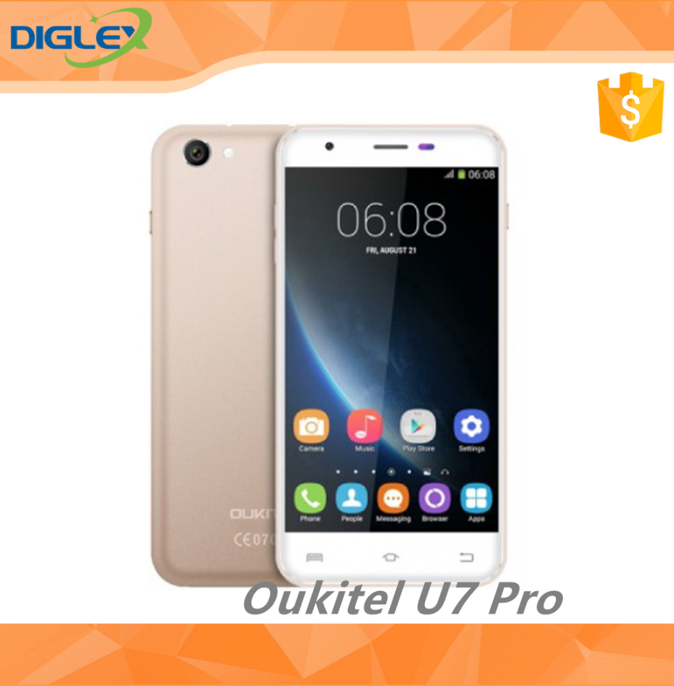 Unlocked Oukitel U7 Pro 5.5 Inch Android 5.1MTK6580 1.3GHz 1GB RAM 8GB ROM Smart Phone free mobile phone