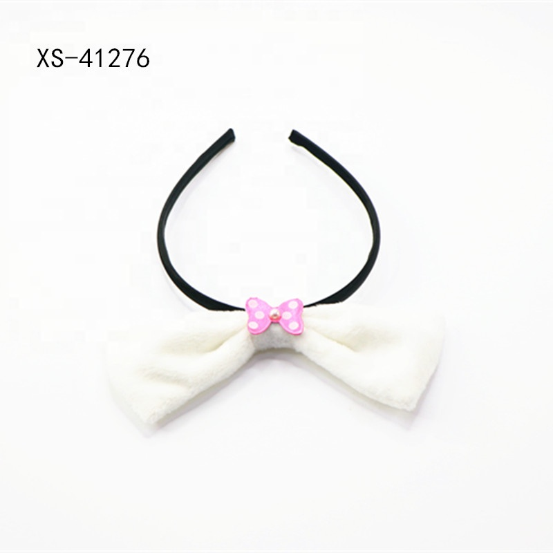 Apparel Accessories Strong-Willed Korea Fabric Tie Knot Hair Bands Rabbit Ears Hairband Flower Crown Headbands For Girls Hair Bows Hair Accessories D
