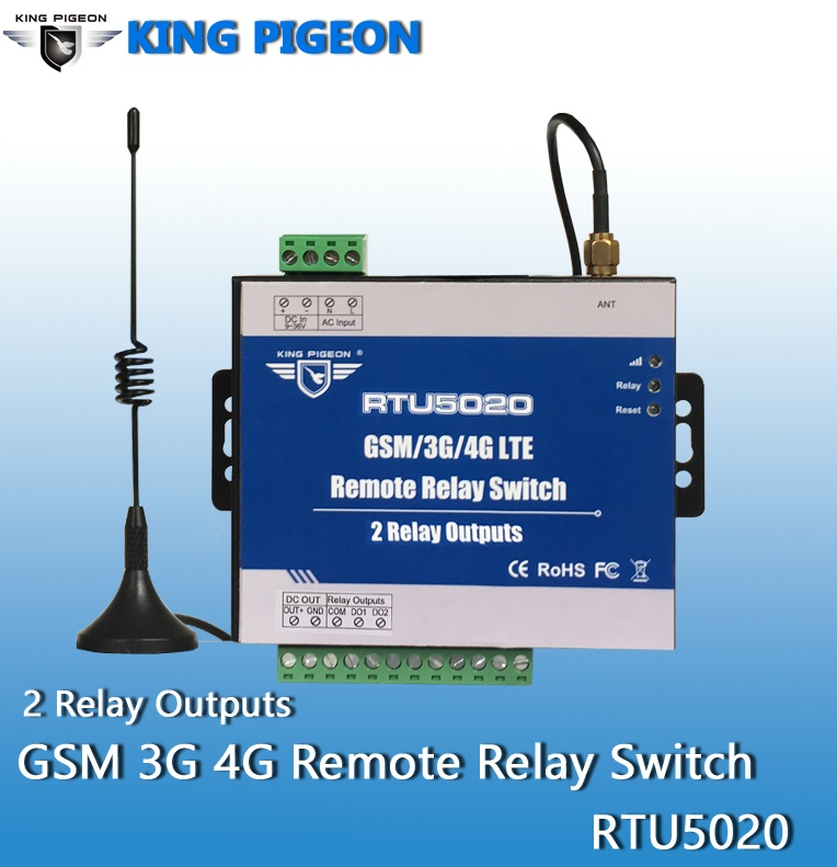 Wireless Modbus 8 channels Relay outputs Controller RTU5022